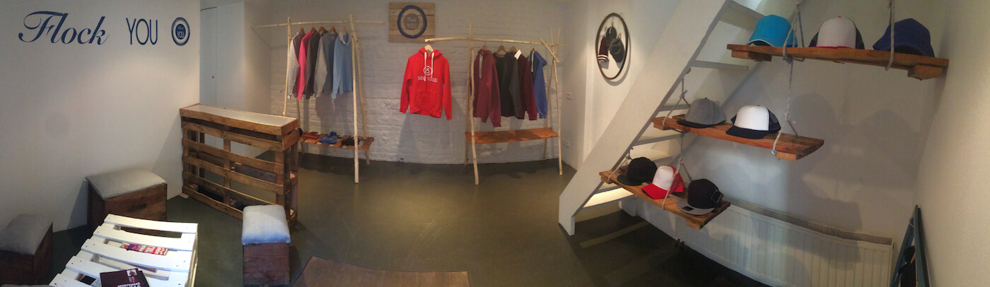 Showroom sweat de promo